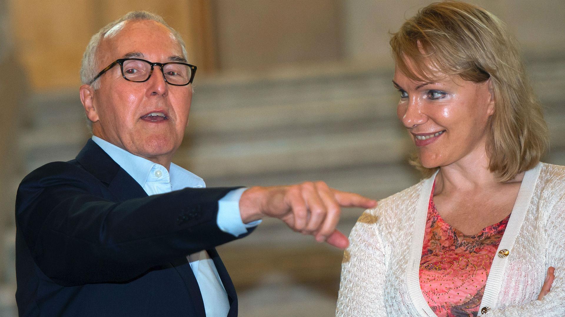 Franck McCourt Margarita Louis-Dreyfus Marseille