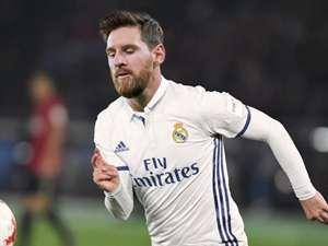 Montage GFX Messi Real Madrid