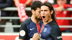 Edinson Cavani Javier Pastore Reims Paris SG Ligue 1 19092015