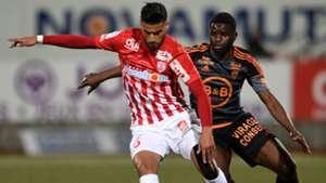 Youssef Ait Bennasser Alhassan Wakaso Nancy Lorient Ligue 1 18032017