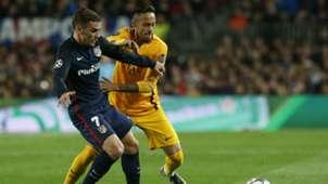 neymar Griezmann Atletico Barcelona