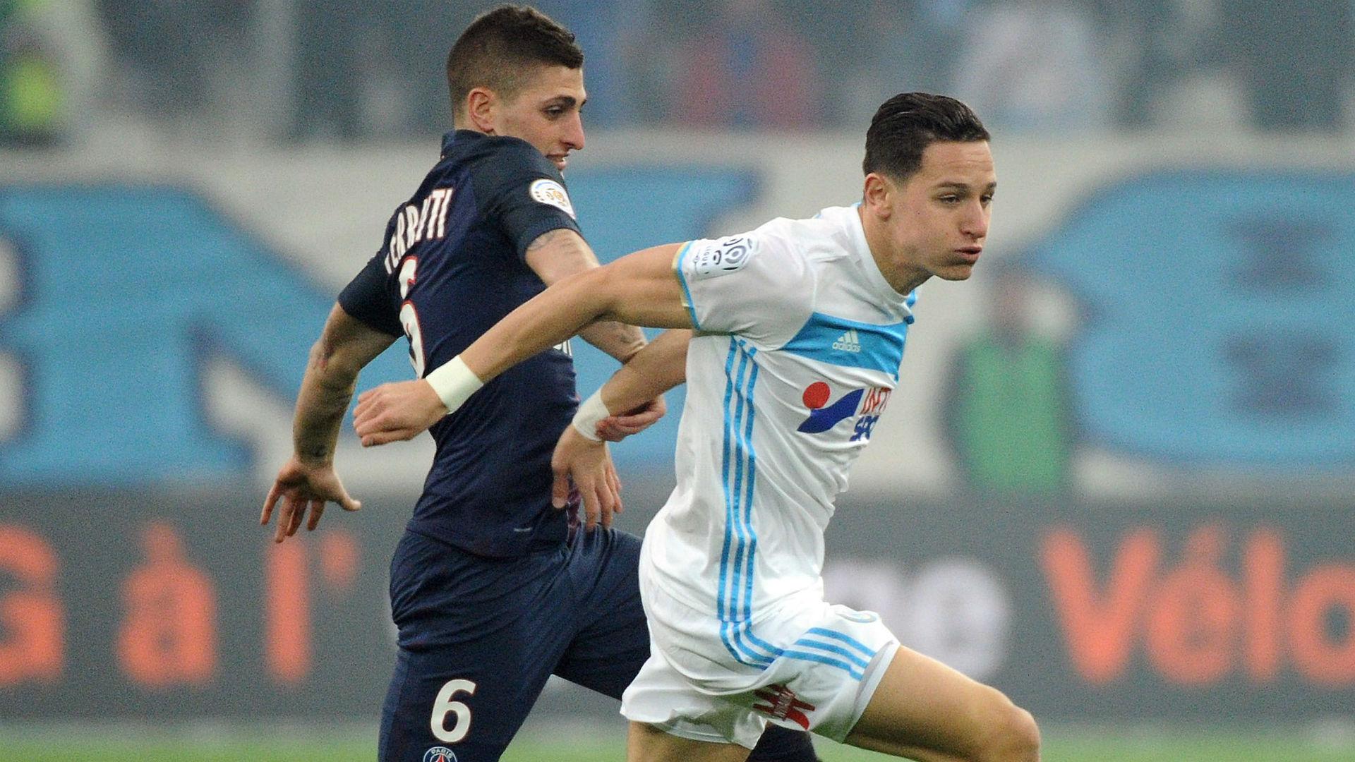 Florian Thauvin Marco Verratti Marseille PSG Ligue 1 26022017