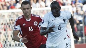 Sokol Cikalleshi Mamadou Sakho Albania France Friendly 13062015