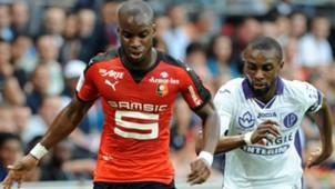 Yacouba Sylla Jean Akpa-Akpro Rennes Toulouse Ligue 1 29082015