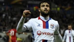 Nabil Fekir Lyon AZ Alkmaar UEFA Europa League 23022017