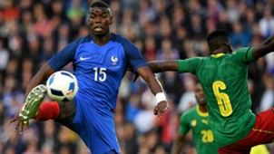 Paul Pogba France Cameroon Friendly 30052016