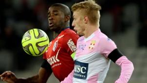 Rio Mavuba Daniel Wass Lille Evian Ligue 1 07012015