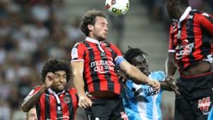 Paul Baysse Bafetimbi Gomis Nice Marseille Ligue 1 11092016