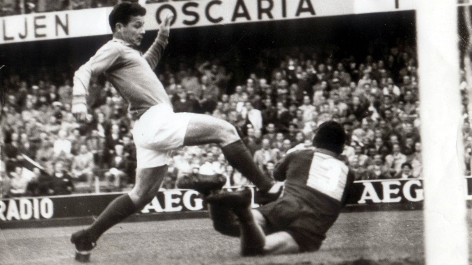 Just Fontaine Gilmar Brazil France World Cup 1958