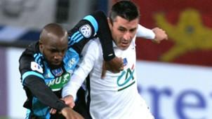 Julien Feret Lassana Diarra Caen Marseille Coupe de France 03012016