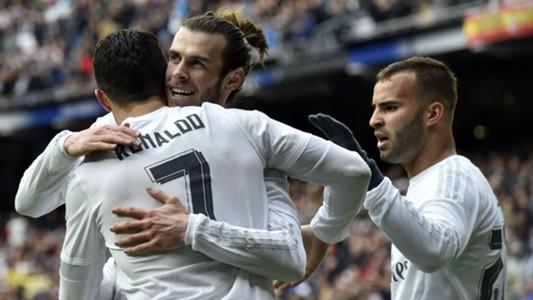 Real Madrid Ronaldo Bale Benzema