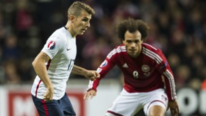 Lucas Digne Martin Braithwate Denmark France Friendly 11102015