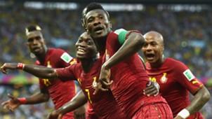 Asamoah Gyan Ghana Germany World Cup 21062014