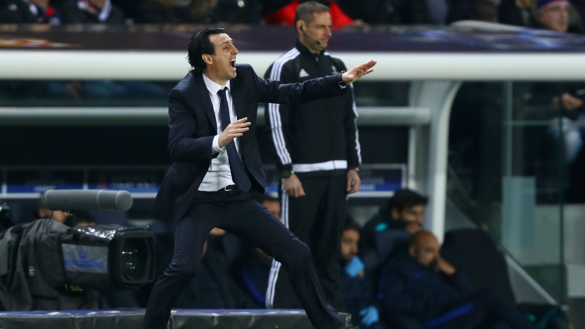 Unai Emery PSG Barcelona Champions League 14022017