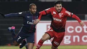 Mehdi Abeid Lucas Moura Dijon Paris SG Ligue 1 04022017