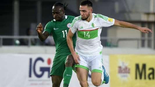 Nabil Bentaleb Victor Moses Nigeria Algeria 12112016