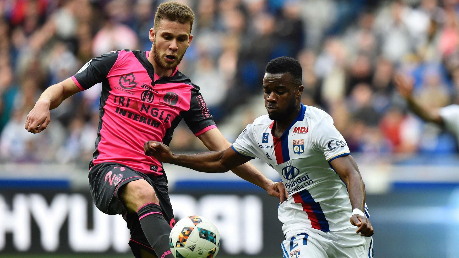 Alexis Blin Maxwell Cornet Lyon Toulouse Ligue 1 12032017