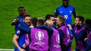 Olivier Giroud France Romania UEFA Euro 2016 10062016