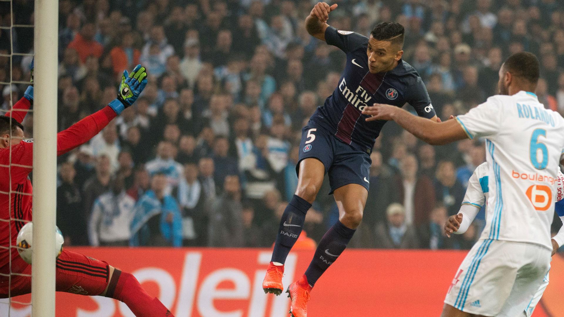 Marquinhos Marseille Paris SG Ligue 1 26022017