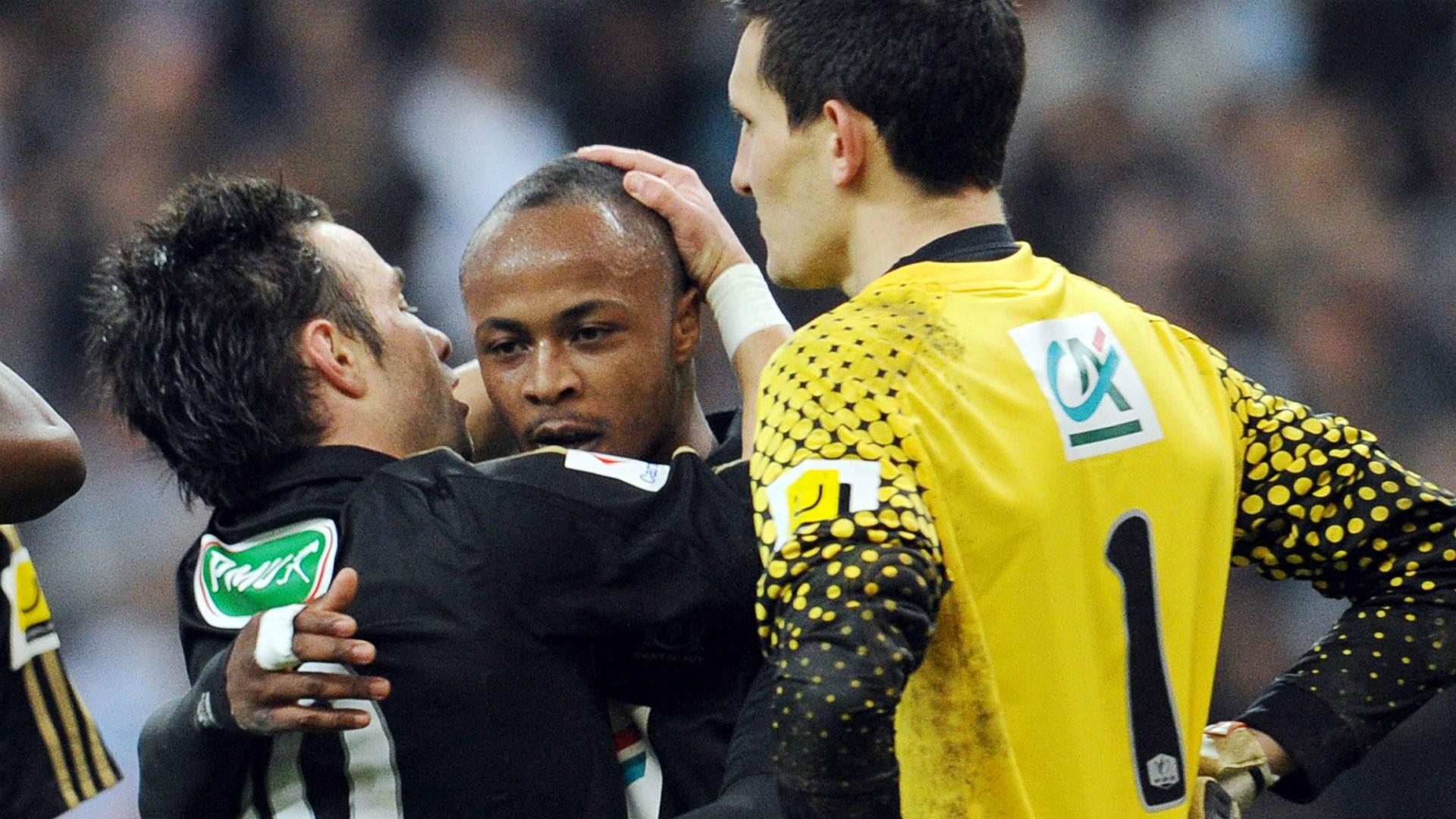 Ayew Valbuena Marseille OM
