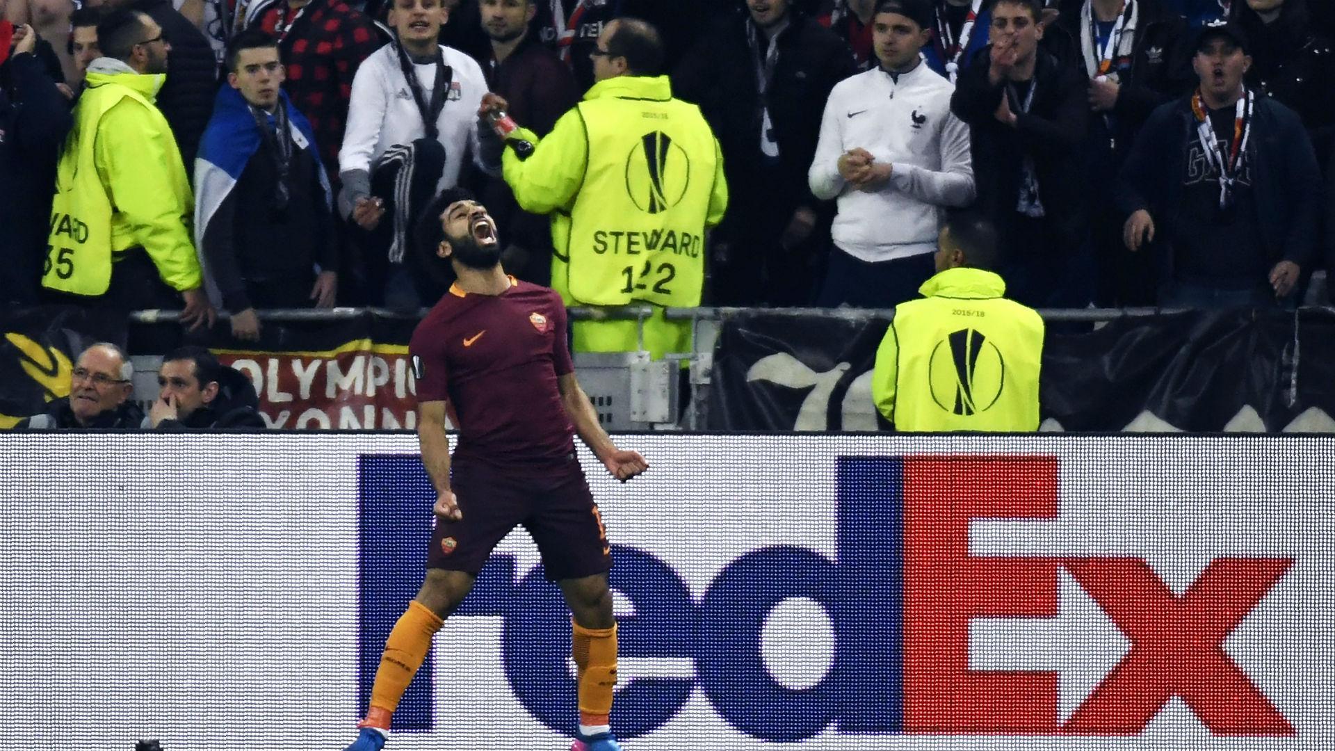 Lyon Roma Salah
