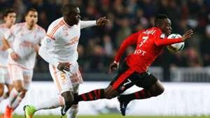 Zargo Toure  Firmin Mubele Ndombe Rennes Lorient Ligue 1 25022017