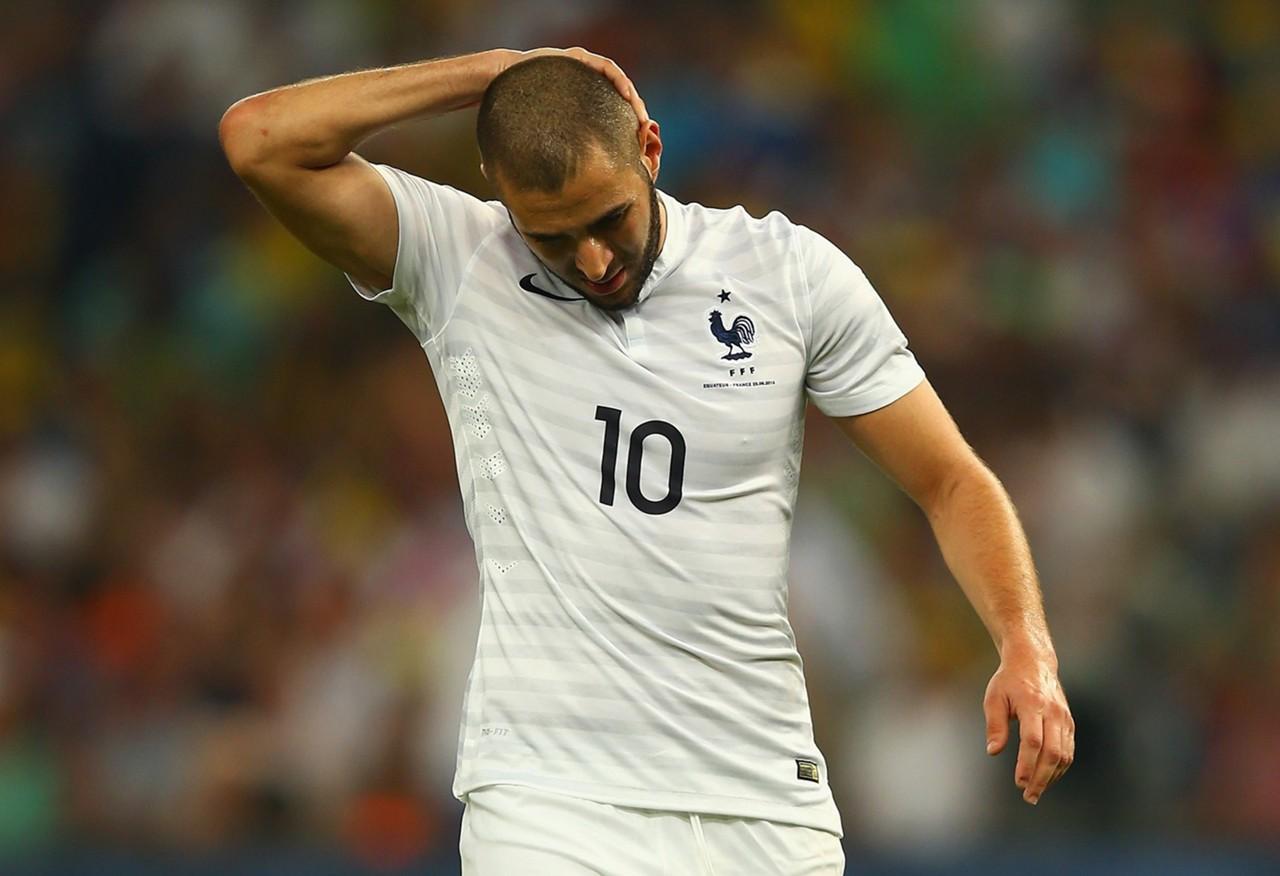 ผลการค้นหารูปภาพสำหรับ ส.บอลฝรั่งเศสดับฝันคืนทีมชาติเบนเซมา