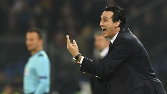 Unai Emery Basel PSG Champions League 01112016