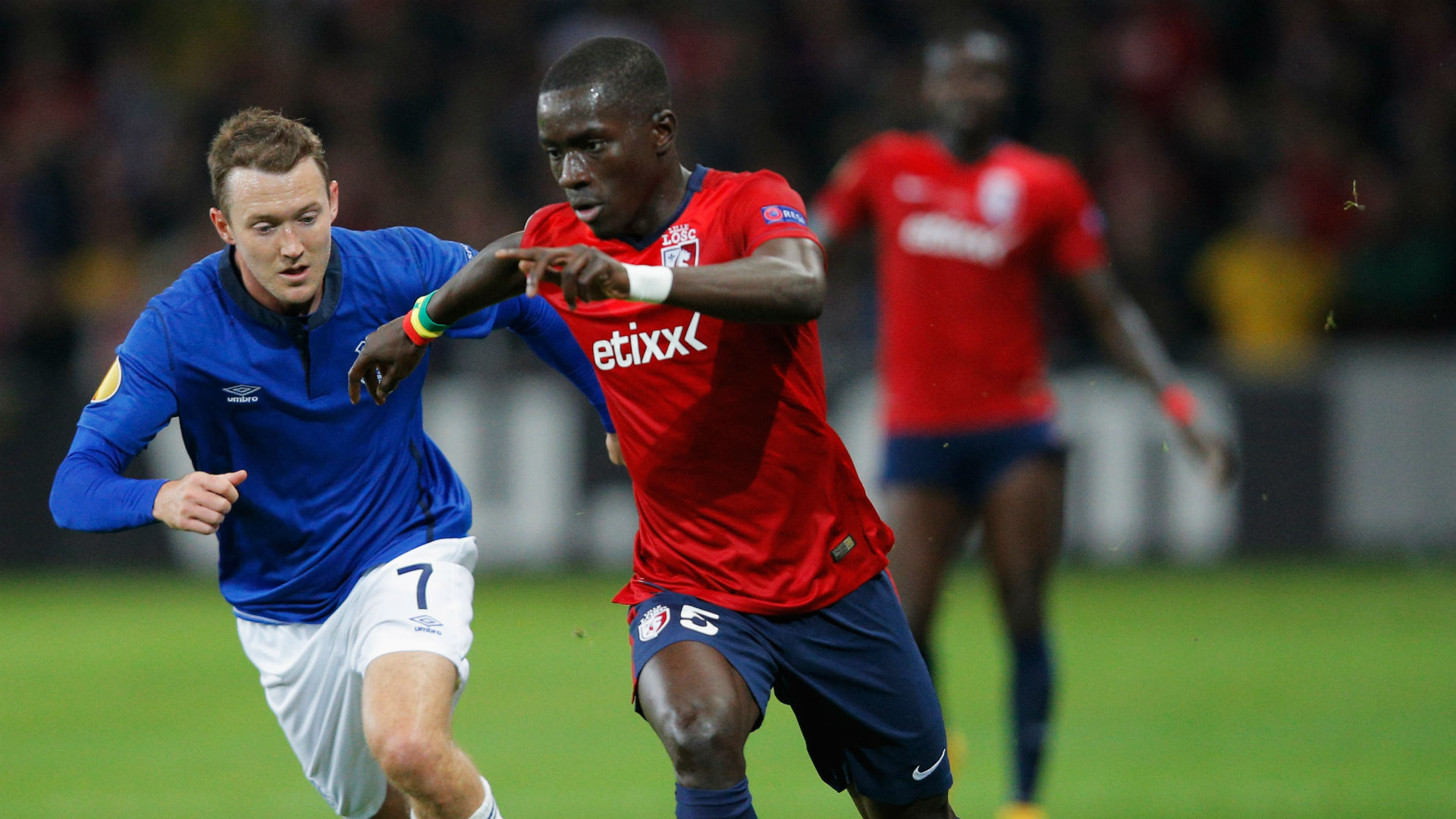 Idrissa Gueye Lille Everton 10232014