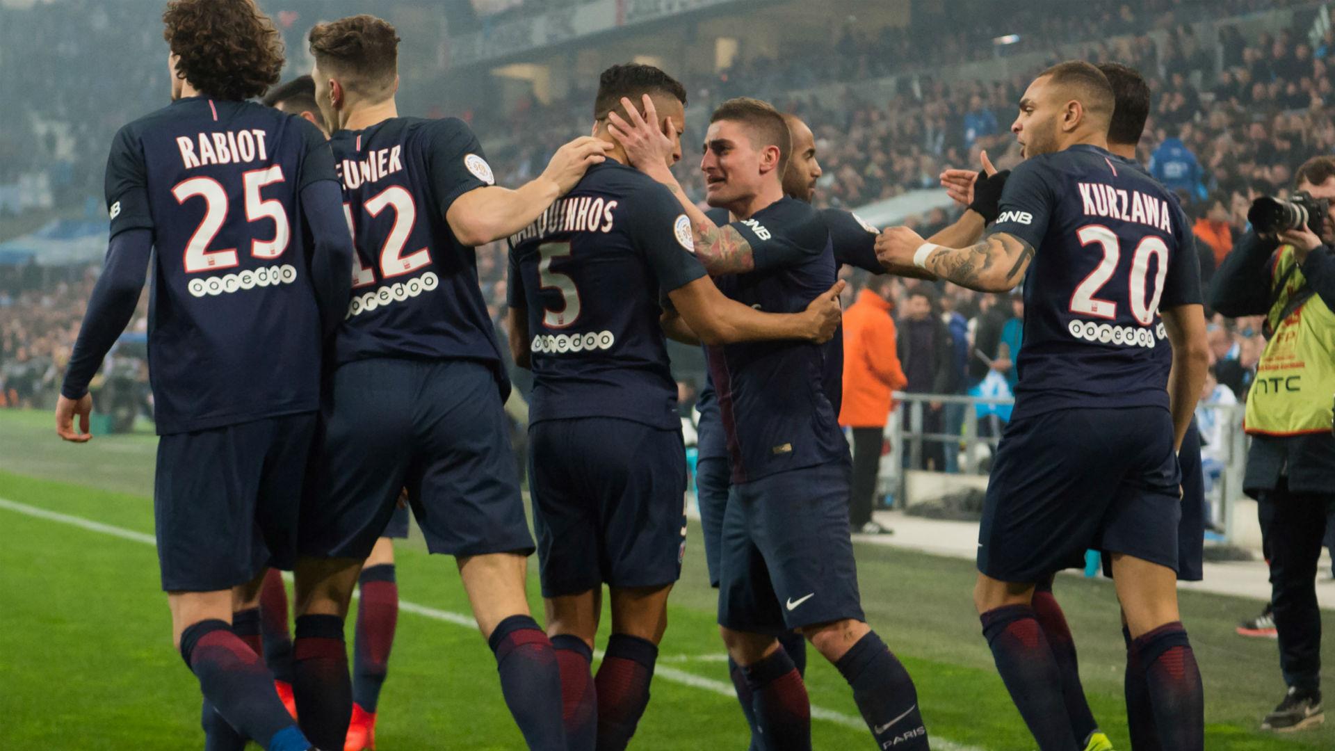 Marquinhos Marco Verratti Marseille PSG Ligue 1 26022017
