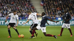 Pogba Schweinsteiger Draxler France Germany Friendly 13/11/2015