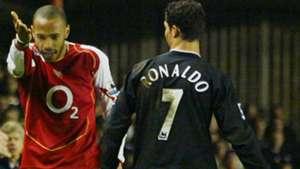 Arsenal Manchester United 2005 Henry Ronaldo