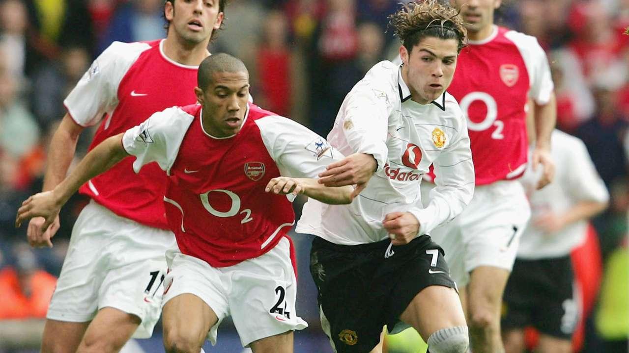 Arsenal Manchester United 2004 Cristiano Ronaldo