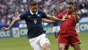 Olivier Giroud Jason Denayer France Belgium Friendly 07062015