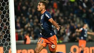 Steve Mounie Montpellier Marseille Ligue 1 04112016