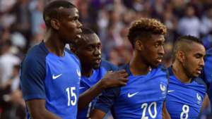 Kingsley Coman Paul Pogba Dimitri Payet France Cameroon Friendly 30052016