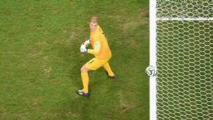 Joe Hart Italy England World Cup 2014