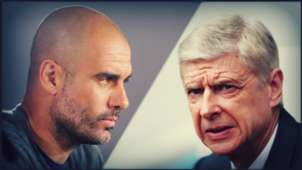 Montage Guardiola Wenger