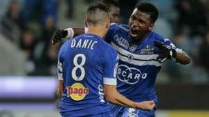 Gael Danic Bastia Metz Ligue 1 10122016
