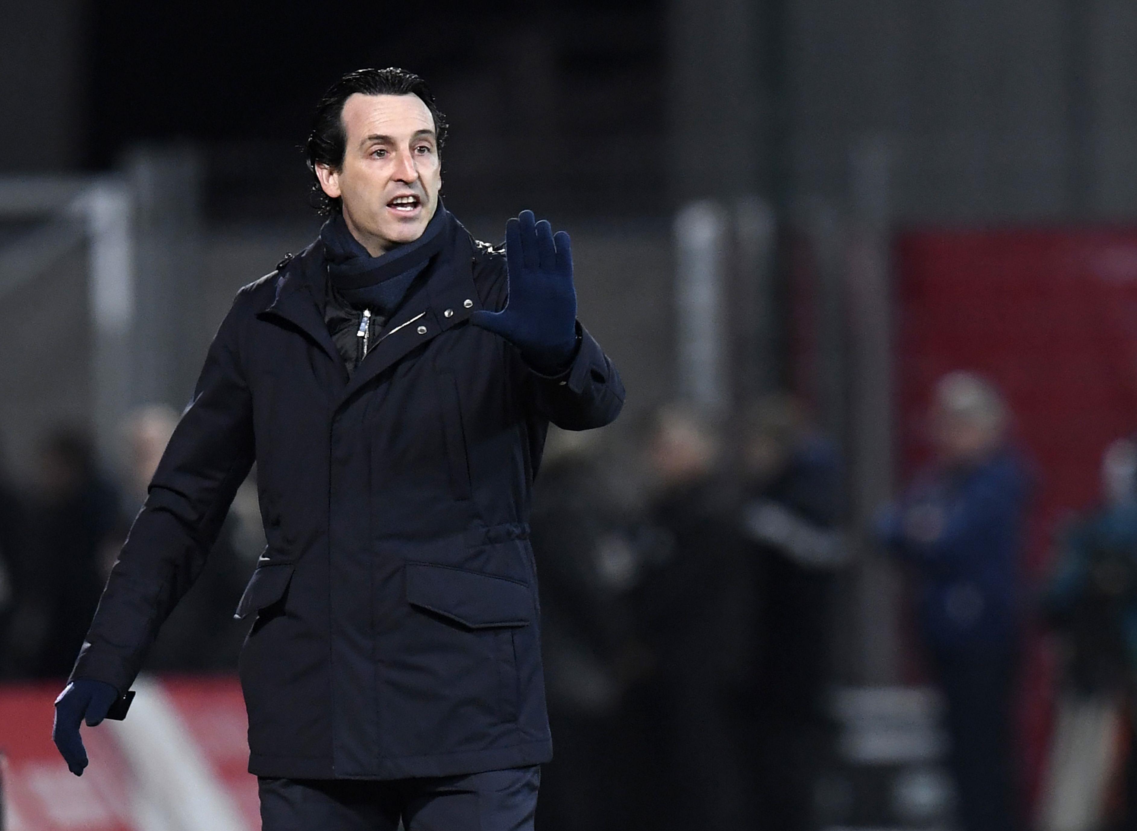 Unai Emery Dijon PSG