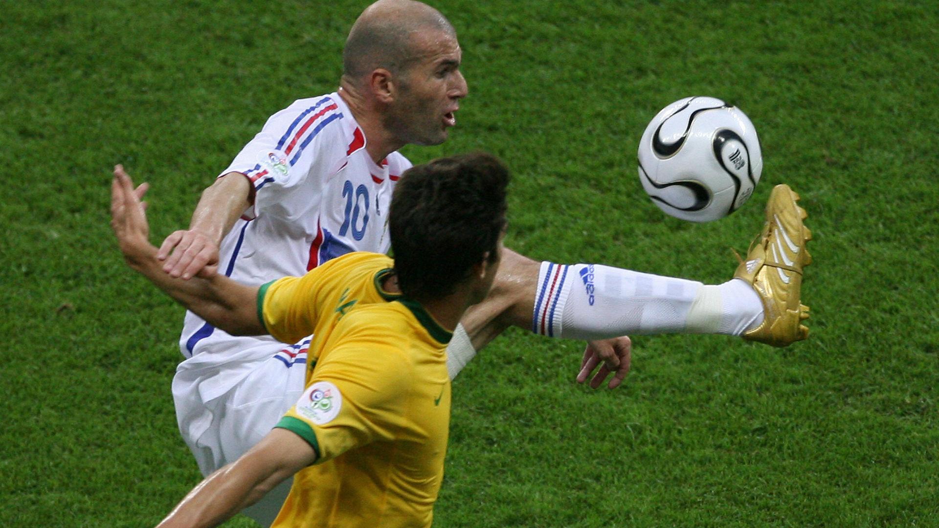 Zinedine Zidane Kaka France Brazil World Cup 2006