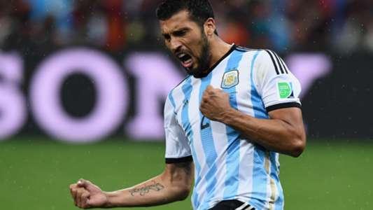 Ezequiel Garay Argentina World Cup 2014