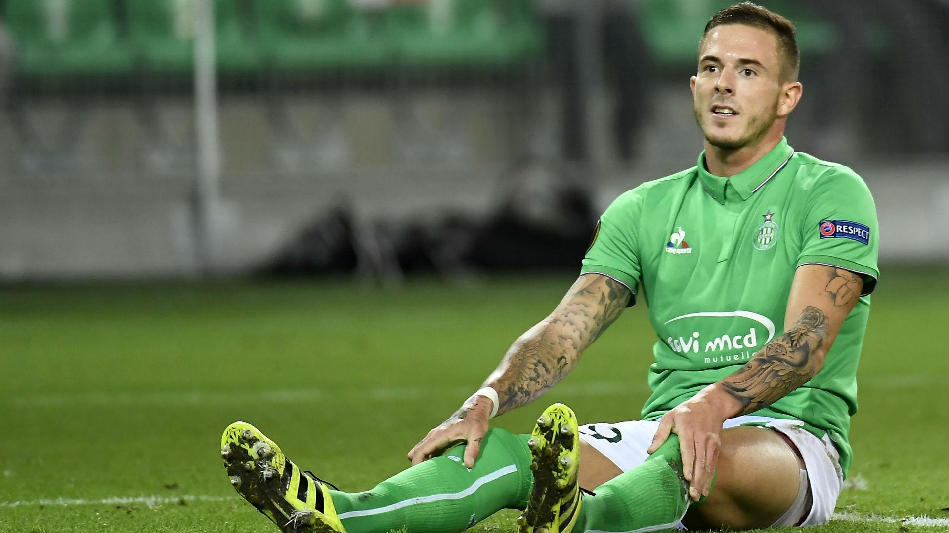 Nolan Roux Saint-Etienne Anderlecht UEFA Europa League 29092016