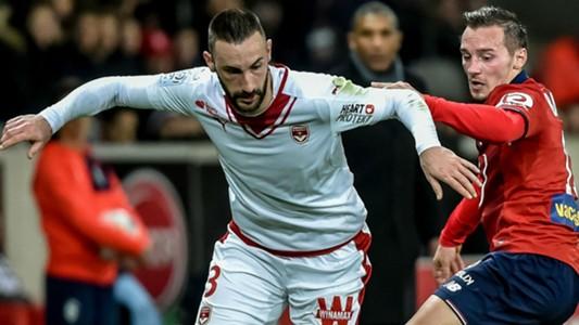 Diego Contento Eric Bautheac Lille Bordeaux Ligue 1 25022017