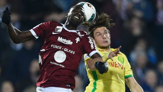 Cheick Diabate Guillaume Gillet Metz Nantes Ligue 1 18022017