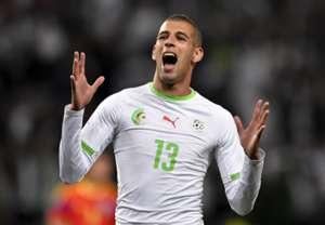 Islam Slimani Algeria Romania Friendly 06042014