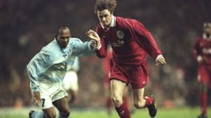 Steve McManaman Liverpool Strasbourg UEFA Cup 04111997