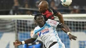 Bafetimbi Gomis Jeremy Sorbon Marseille Guingamp Ligue 1 08022017