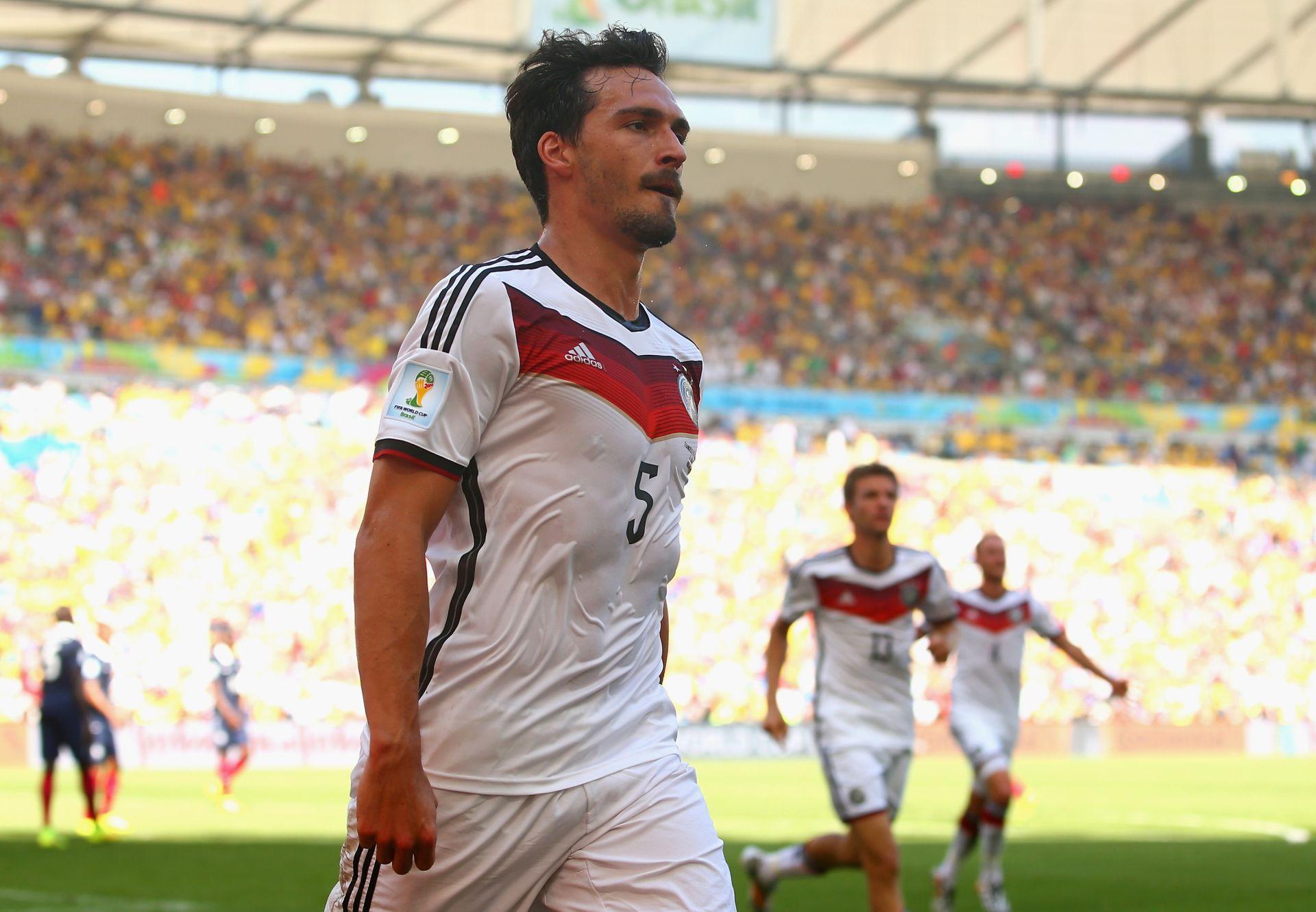 Mats Hummels France Germany World Cup 2014 07042014