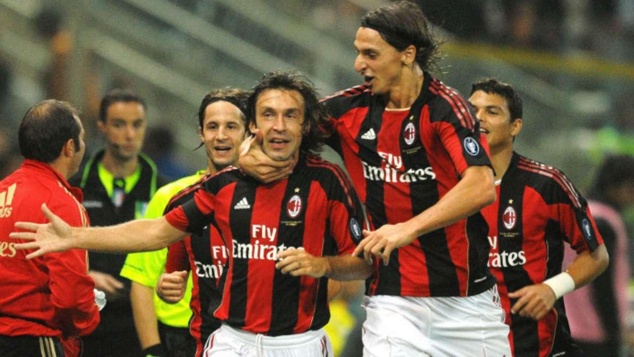 Ibrahimovic Pirlo Milan